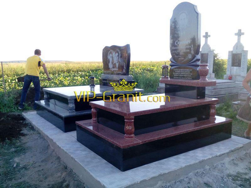 Памятники на могилу фото и цены энгельс Эконом памятник Волна Приволжск